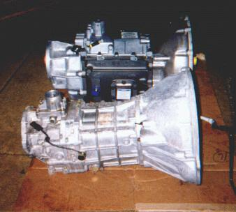 Transmission And Transfer Case